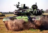 Tank T-72 M4CZ v akci