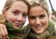 Norské vojačky - drsná krása