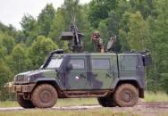 AČR - střelba z bojového vozu IVECO