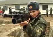 Ruské vojačky v akci