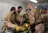 Den otevřených dveří Fakulty vojenského zdravotnictví Univerzity obrany