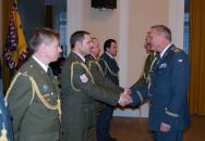 Univerzita obrany na veletrhu Gaudeamus a slavnostní vyřazení absolventů kurzu vyšších důstojníků