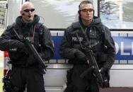 Německá policie v akci