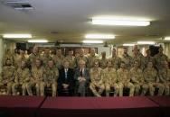 """""""Velice si vážím vaší práce,"""" Miloš Zeman českým vojákům v Afghánistánu"""