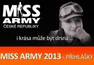 Miss ARMY 2013 - INFORMACE O SOUTĚŽI