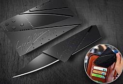 Nůž v kartě - nenápadný pomocník