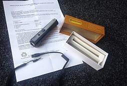 Test multifunkčního paralyzéru TW-501 s LED svítilnou