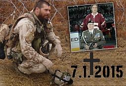 7. 1. 2015 - den kdy nás opustil válečný hrdina Jirka REGI Schams