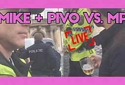 Arogantní srá* s pivem v ruce absolutně pohrdá zákony i Městskou policií