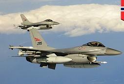 Norská stíhačka F-16 zachránila umírajícímu pacientovi život!