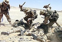 Ghurka se vrátil na svou základnu s useknutou hlavou velitele Tálibánu