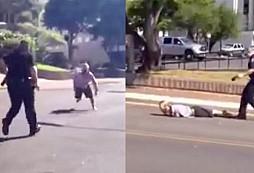 Dělat si srandu a utíkat před policistou se nevyplácí