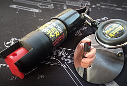 Pepřový sprej Eliminátor s navijákem pro bleskové použití