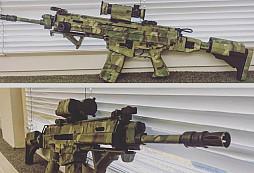 Jak si maskují pušky Bren vojáci ze Žatce?!