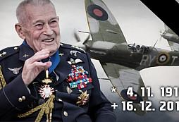 Dnes zemřel druhoválečný veterán a bývalý pilot Imrich Gablech
