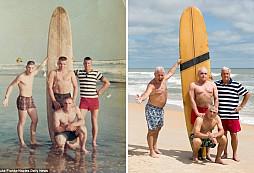 Veteráni z Vietnamu udělali stejný snímek jako před padesáti lety