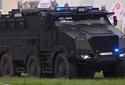 TITUS - obrněné vozidlo kategorie MRAP na podvozku TATRY