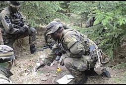 Výcvik borců z 601. skupiny speciálních sil - 2017