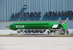 """Američané svrhli na Afghánistán nejsilnější nenukleární bombu GBU-43/B přezdívanou """"matka všech bomb"""""""