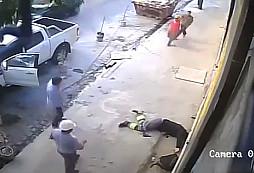 Zloděj aut viděl snadný cíl, avšak šeredně se přepočítal