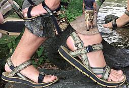 Bezkonkurenční sandály od SOURCE