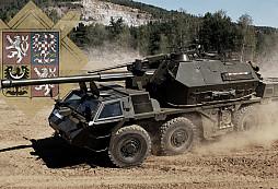 Armáda bude modernizovat dělostřelectvo