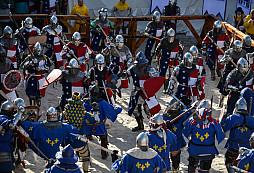 Středověký plnokontaktní boj - sport pro drsné chlapy