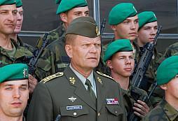 Generál Josef Bečvář se rozloučil s vojáky a všem poděkoval za dosavadní spolupráci