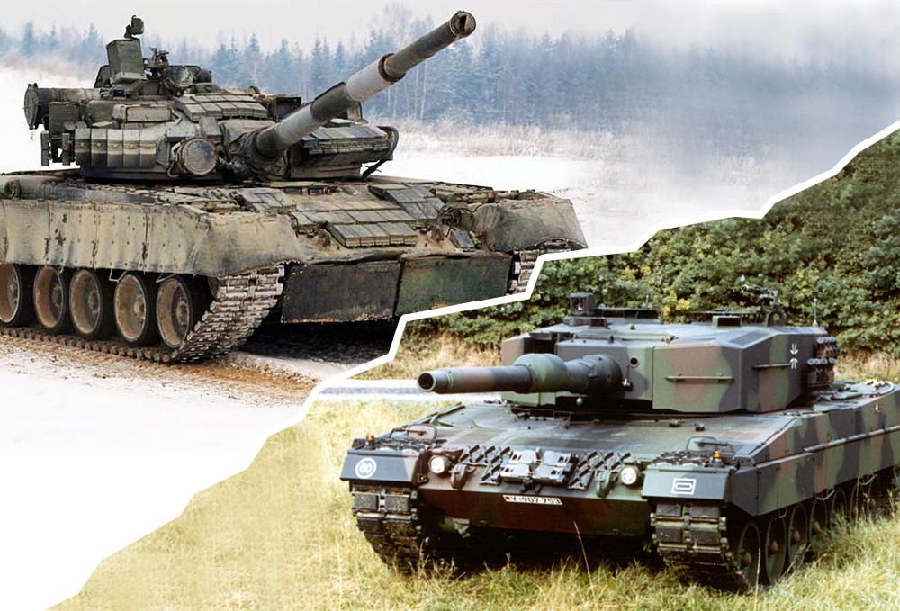 Panzer T90 Vs Leopard 2