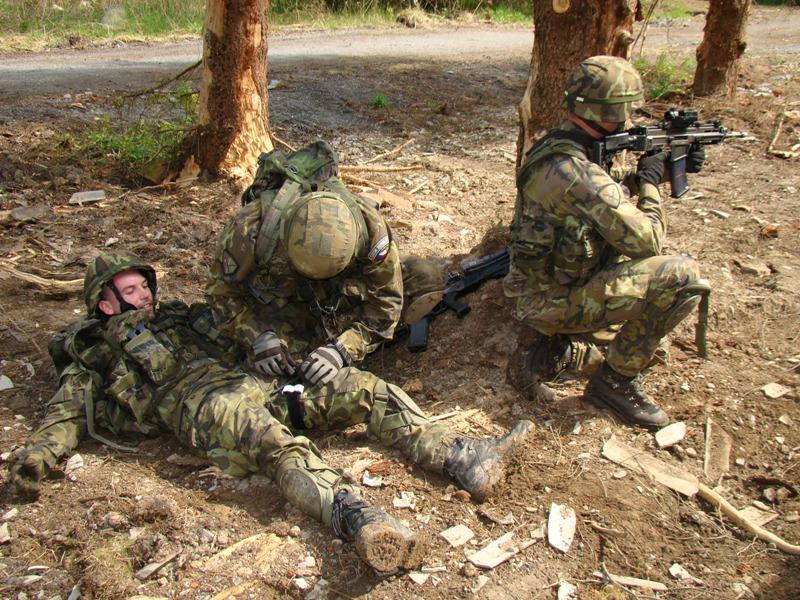 Příprava občanů k obraně – vojenská první pomoc (cls – 2