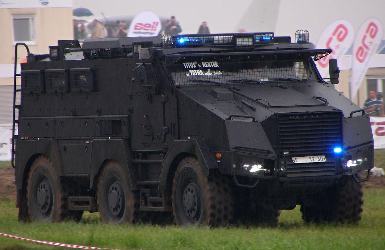 Titus Obrněn 233 Vozidlo Kategorie Mrap Na Podvozku Tatry