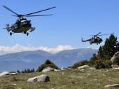 Čeští vrtulníkáři se vrátili ze cvičení Mountain Flight 2018 ve Francii