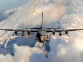 Takhle vypadá cvičení monstrózní létající pevnosti AC-130