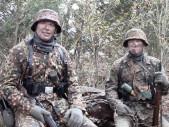 Efektivita maskování uniforem příslušníků Waffen-SS