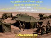 Anareus sponzoruje vybrané airsoftové tábory