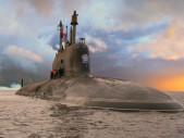 V Rusku byl zahájen vývoj jaderné ponorky páté generace