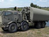 Na veletrhu IDET se představí nové pontonové mostní vozidlo na podvozku Tatra