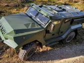Patriot II 4x4 – nové univerzální obrněné vozidlo na podvozku Tatra
