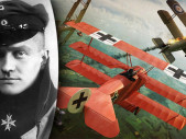 Letecké eso Manfred von Richthofen alias legendární Rudý Baron