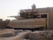 V Sýrii byl poprvé nasazen ruský bojový robot Uran-9