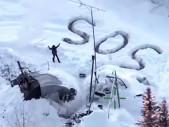 Muž dokázal přežít tři týdny zcela sám v aljašské divočině v -30 °C