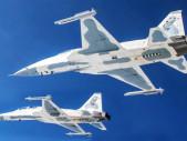 Thajsko představilo v Singapuru stíhačky F-5TH