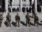 Občanská válka v USA: Policista byl zastřelen během nepokojů v Las Vegas