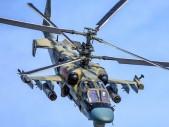 První let ruského bitevního vrtulníku Ka-52M