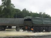 Naši vojáci si vyzkoušeli extrémní školu smyku s vozidly TATRA 815-7 PRAM/TATRA s vlekem
