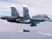 Peklo z nebe: Ruský nálet na výcvikovou základnu v Sýrii zabil téměř 80 protureckých teroristů