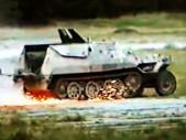 Obrněný transportér OT-810 v driftu