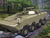 BTR-V2: Zcela nový kolový obrněnec z Běloruska