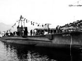 Poslední sbohem italské ponorce Scirè