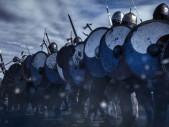 Vikinská štítová hradba - důmyslná taktika nebo nesmrtelný mýtus?